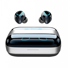 i09 TWS Bluetooth earphone touch control 5.0 True Wireless with Power Bank 2800mA ultimate sound quality