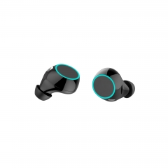 BS03 New 360 ° rotation metal cover Wireless Bluetooth Earbuds Headphones-TWS V5.0 Mini in Ear TWS Earbuds with with Voice Assistant Function
